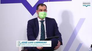 """José Luis Larragay: """"En la pandemia, lo primero que hicimos fue dar oxígeno al comercio"""""""