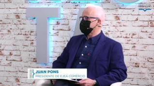 """Juan Pons: """"Lo más importante ahora, para el comercio, es buscar fórmulas que minimicen el impacto"""""""