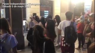 Zaragoza suena con normalidad en el primer sábado sin estado de alarma