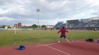 El sacrificio que supone llegar a la élite: un día con el lanzador de jabalina Hector Aragüés