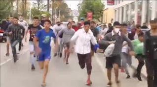 El asalto a las fronteras mantiene en tensión a toda la ciudad de Ceuta