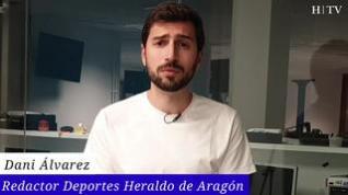 El Real Zaragoza despide la temporada con una dura goleada ante el Leganés