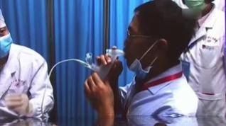 China autoriza el uso de emergencia de la vacuna contra la COVID inhalada