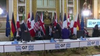 Los ministros de finanzas del G-7 acuerdan en Londres reformar el sistema fiscal global
