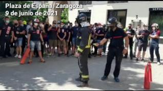 """Los bomberos de la DPZ reclaman cubrir la plantilla con una bolsa de empleo de """"urgencia"""""""