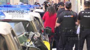 Imágenes de Diego El Cigala, saliendo detenido de comisaría