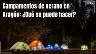 Así serán los campamentos este verano en Aragón