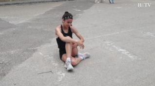El sacrificio que supone llegar a la élite: un día con la atleta aragonesa Mireya Arnedillo