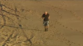 Boris Johnson, running y chapuzón mañanero antes de la cumbre del G7