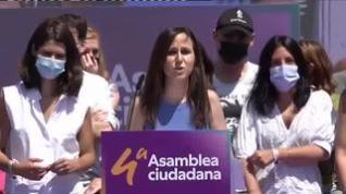 Ione Belarra, nueva líder de Podemos con casi el 89% de los votos