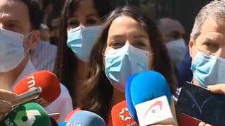 """Inés Arrimadas: """"Se indulta a los que han roto Cataluña"""""""