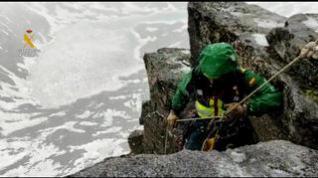 Rescate de dos escaladores que se encontraban enriscados en la cara sur del pico Abadías, en Benasque