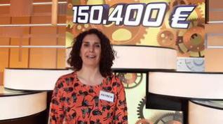 Patricia Bádenas, maestra, gana el mayor bote de la historia de Aragón TV