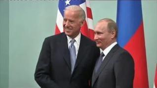 Esperado encuentro entre Joe Biden y Vladimir Putin en Suiza