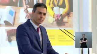 Sánchez cree que estudiantes de ESO y Bachillerato podrían vacunarse antes del próximo curso