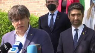 """Puigdemont condiciona su regreso a España a que el Gobierno respete su """"inmunidad"""""""