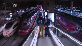 Primer viaje del AVLO, el tren 'low cost' de Renfe