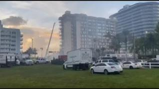 Miami busca sin descanso a los 159 desaparecidos tras el desplome de un edificio