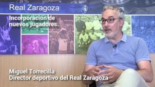 """Miguel Torrecilla a la afición zaragocista: """"confíen en los profesionales"""""""