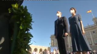Los reyes presiden el segundo homenaje de Estado a las víctimas de la pandemia
