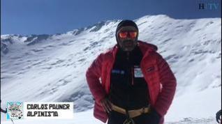 Pauner ya está en el campo 2 y ultima su ascensión al pico Lenin