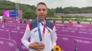 David Valero se hace con el bronce olímpico en ciclismo de montaña