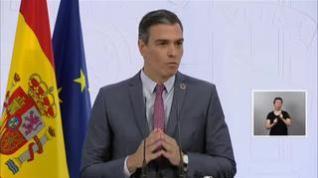 """Sánchez: """"Una oposición destructiva en el momento que estamos viviendo, no tiene lugar"""""""