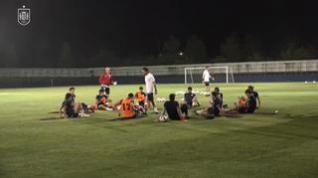La selección española de fútbol vuela a Miyagi para enfrentarse a Costa de Marfil