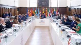 Pere Aragonés, único ausente en la XXIV Conferencia de Presidentes