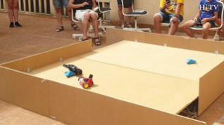 Zaragoza celebra el primer combate de robots