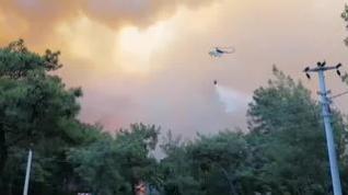 Turquía declara el Estado de Desastre en las regiones devoradas por los incendios forestales