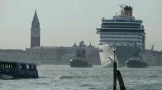 Los grandes cruceros quedan prohibidos en Venecia