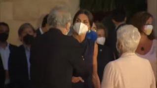 La reina asiste a la clausura del festival de cine en Palma de Mallorca