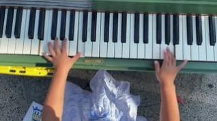 Un prodigio de la música con tan solo cuatro años