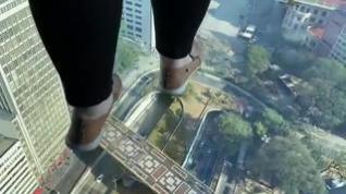 Sao Paulo ya tiene una plataforma de cristal en su edificio más alto: no apta para miedosos