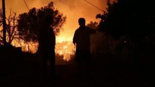 Los incendios en Grecia obligan a evacuar a 650 personas de la isla de Evia