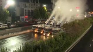 Vuelven los camiones desinfectantes a las calles de China