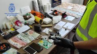 Desmantelan dos pisos en Zaragoza desde los que se traficaba con sustancias estupefacientes