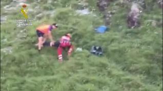 Muere el montañero que sufrió una grave caída en Candanchú