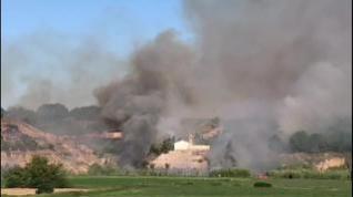 Incendio en Sariñena