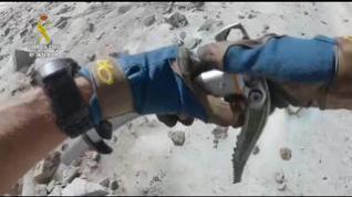 La Guardia Civil alerta del peligro de ir al glaciar del Aneto sin crampones ni piolet