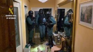 Desarticulada en Fraga una red criminal dedicada al tráfico de drogas