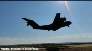 Sale otro avión de la Base Aérea de Zaragoza para evacuar a población de Afganistán