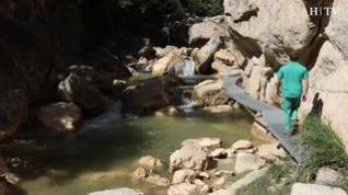 Vídeo de la ruta de las pasarelas de Aliaga