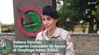 """Rebeca Sánchez, militar del EADA: """"Hemos visto familias rotas y niños perdidos. Para eso no hay entrenamiento"""""""