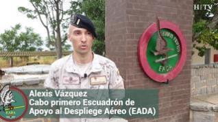 """Alexis Vázquez, militar del EADA: """"El atentado fue duro. Conocíamos a los 13 norteamericanos que murieron"""""""