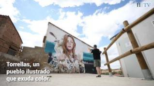 Los murales alegran la vista en Torrellas