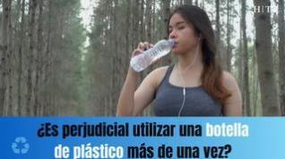 ¿Se puede reutilizar una botella de plástico?