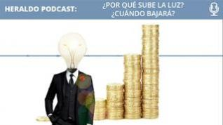 Podcast Heraldo: ¿Por qué sube la luz? ¿Cuándo bajará?