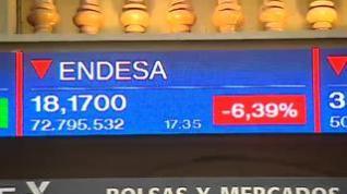 El Ibex 35 sufre la mayor caída de todos los índices europeos